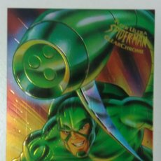 Trading Cards: FLEER ULTRA SPIDER-MAN 1995 ESCORPION CLEARCHROME 7. Lote 105075446