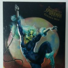 Trading Cards: FLEER ULTRA SPIDER-MAN 1995 BLACK CAT GOLDEN WEB 1. Lote 105075810