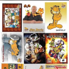 Trading Cards: COMPLETA - GARFIELD TRADING CARD SET # 100 CARDS (PACIFIC,2004) - BASE SET - MOVIE SET. Lote 105190227