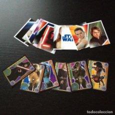 Trading Cards: LOTE 15 STAR WARS TRADING CARD CARDS EL CAMINO DE LOS JEDI TOPPS CROMO CROMOS PEGATINA PEGATINAS. Lote 105299043