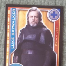 Trading Cards: 86 - LUKE SKYWALKER - STAR WARS - EL CAMINO DE LOS JEDI - TRADING CARD GAME -CARREFOUR 2017. Lote 106610054