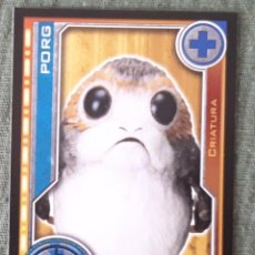 Trading Cards: 87 - PORG - STAR WARS - EL CAMINO DE LOS JEDI - TRADING CARD GAME -CARREFOUR 2017. Lote 106610055