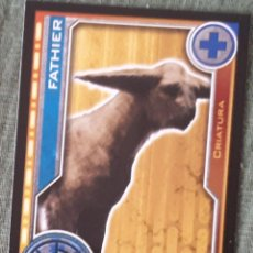 Trading Cards: 95 FATHIER - STAR WARS - EL CAMINO DE LOS JEDI - TRADING CARD GAME -CARREFOUR 2017. Lote 106610080