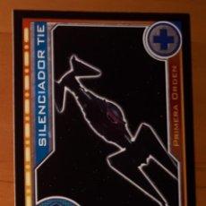 Trading Cards: 98 - SILENCIADOR TIE - STAR WARS - EL CAMINO DE LOS JEDI - TRADING CARD GAME -CARREFOUR 2017. Lote 106610095