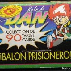 Trading Cards: BOLA DE DAN COLECCIÓN COMPLETA DE 90 CARTAS + CAJA EDICIONES ESTE. Lote 106605531