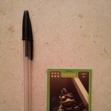 Trading Cards: TARJETA ORIGINAL - PULGA - WALT DISNEY - BICHOS. Lote 106609879