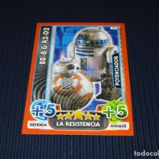 Trading Cards: BB-8 & R2-D2 - 92 - STAR WARS - FORCE ATTAX EXTRA - TOPPS - DISNEY. Lote 106647391