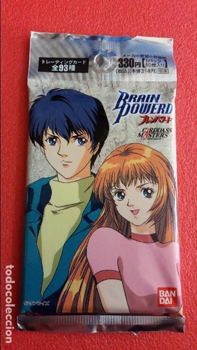 BOOSTER PACK - SOBRE SIN ABRIR JAPONÉS CARDS BRAIN POWERD. DE 1998 Y COMO NUEVO. BANDAI. (Coleccionismo - Cromos y Álbumes - Trading Cards)