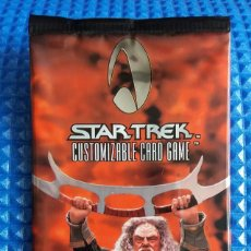 Trading Cards: F-228- SOBRE CROMOS SIN ABRIR CARDS STAR TREK BLAZE OF GLORY. DE 1999.. Lote 106658671