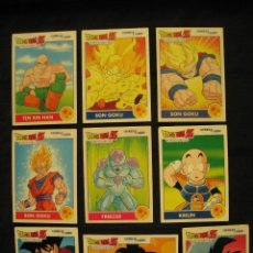 Trading Cards: LOTE 9 CROMOS - DRAGON BALL Z - COMBAT CARDS.. Lote 191422566