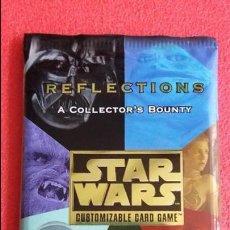 Trading Cards: F-237- SOBRE CROMOS SIN ABRIR CARDS STAR WARS REFLECTIONS- LA GUERRA DE LAS GALAXIAS - 1999. Lote 106958935