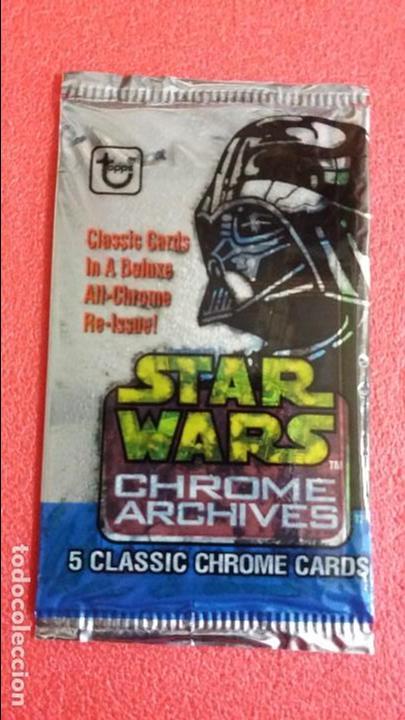 F-238- SOBRE CROMOS SIN ABRIR CARDS STAR WARS -1999 (Coleccionismo - Cromos y Álbumes - Trading Cards)