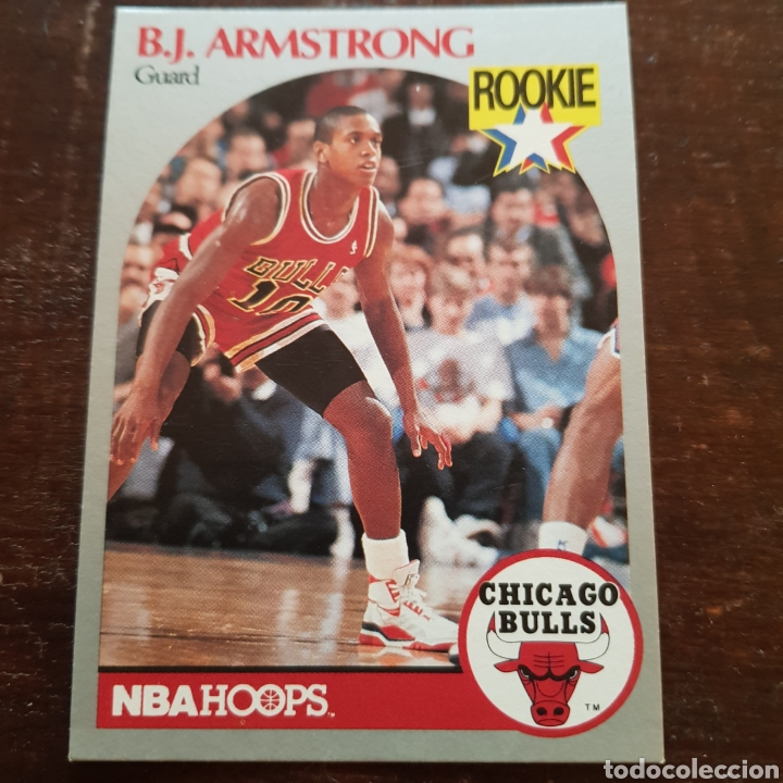 Nba B J Armstrong Rookie Chicago Bulls N 60 Nba Hoops 90 91