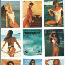 Trading Cards: UJENA ´S SWINWEAR ILUSTRATED : COLECCION COMPLETA 90 CARS (COMICS IMAGE, 1993). Lote 107256623