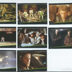 Trading Cards: STAR WARS GALACTIC FILES. SUBSET BAD FEELING COMPLETO . 8 CARDS. Lote 107256951