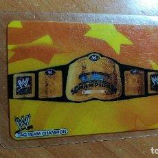 Trading Cards: WWE LAMINCARDS EDIBAS 2007 Nº144. Lote 207080171