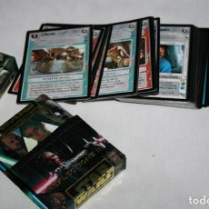 Trading Cards: LOTE DE 50 CARTAS, STAR WAR REFLECTIONS III, TM 2001, TRADING CARDS. Lote 107868919