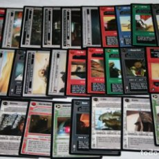 Trading Cards: LOTE DE 117 CARTAS, STAR WARS DECIPHER 1998, TRADING CARDS. Lote 108234847