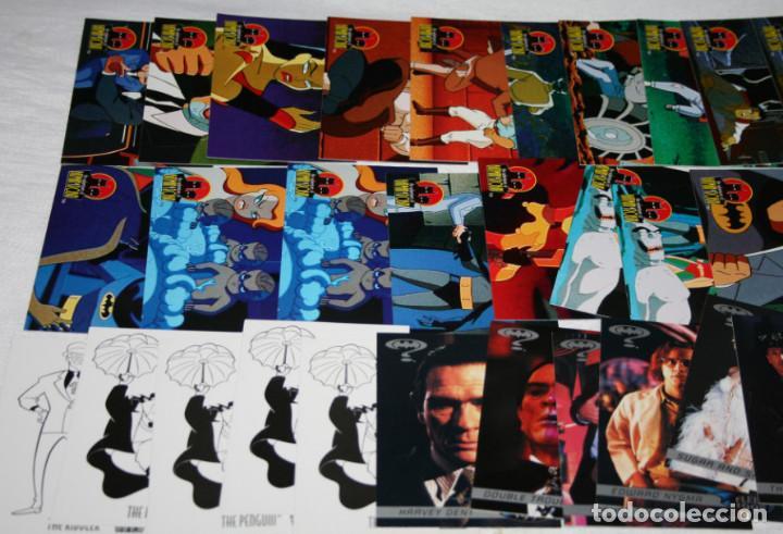 LOTE DE 41 CARTAS, BATMAN & ROBIN, TM SKYBOX 1995, TRADING CARDS (Coleccionismo - Cromos y Álbumes - Trading Cards)