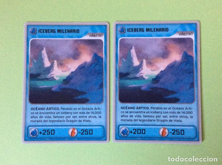 INVIZIMALS- DESAFIÓ OCULTO-2009-2013 (ERROR) ICEBERG MILENARIO - HÁBITAT Nº 438 (Coleccionismo - Cromos y Álbumes - Trading Cards)