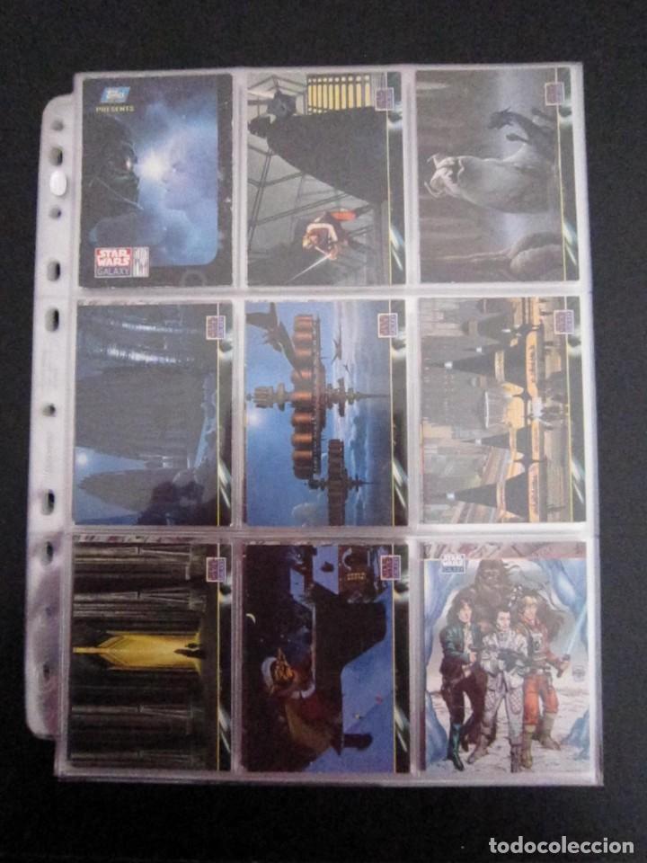 STAR WARS - TRADING CARDS - GALAXY 2 - IMPORTACIÓN U.S.A. (Coleccionismo - Cromos y Álbumes - Trading Cards)
