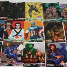 Trading Cards: LOTE DE 56 CARTAS, X-MEN MARVEL PREMIUM, FLEER SKYBOX 1997, TRADING CARDS. Lote 108921511