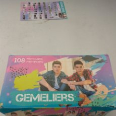 Trading Cards: GEMELIERS PHOTOCARDS DE PANINI CAJA COMPLETA 24 SOBRES 144 PHOTOCARDS. Lote 110093912