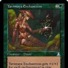 Trading Cards: YAVIMAYA ENCHANTRESS. COLECCIÓN MAGIC THE GATHERING URZA'S DESTINY. NUEVA.. Lote 110447695