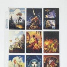 Trading Cards: TRADING CARDS TIM HILDEBRANT FLIGHTS OF FANTASY SET DE 90 A FALTA DE LA CARD 49. Lote 111338303