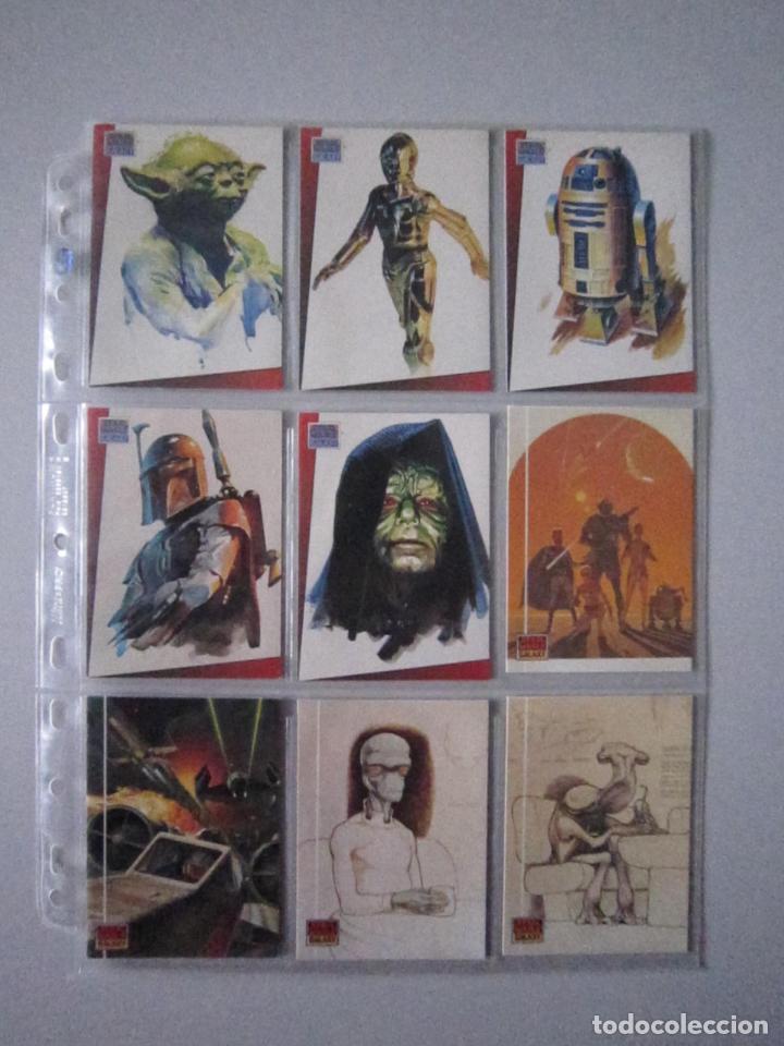 Trading Cards: STAR WARS - TRADING CARDS - GALAXY 1 - IMPORTACIÓN U.S.A. - Foto 2 - 108729043