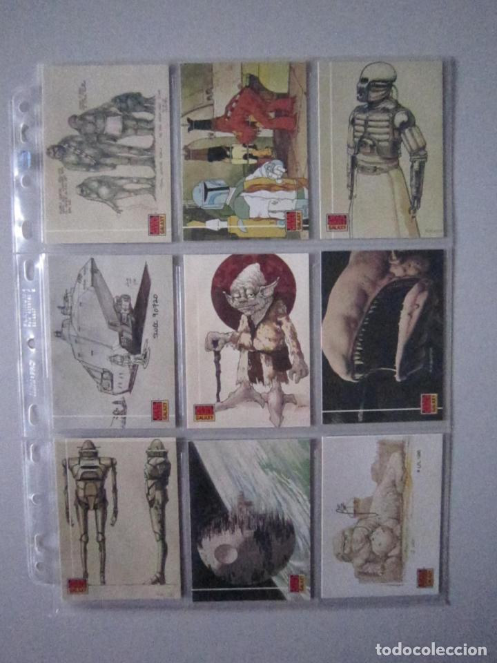 Trading Cards: STAR WARS - TRADING CARDS - GALAXY 1 - IMPORTACIÓN U.S.A. - Foto 3 - 108729043