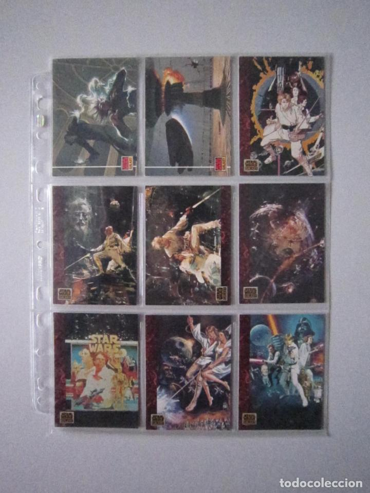 Trading Cards: STAR WARS - TRADING CARDS - GALAXY 1 - IMPORTACIÓN U.S.A. - Foto 6 - 108729043