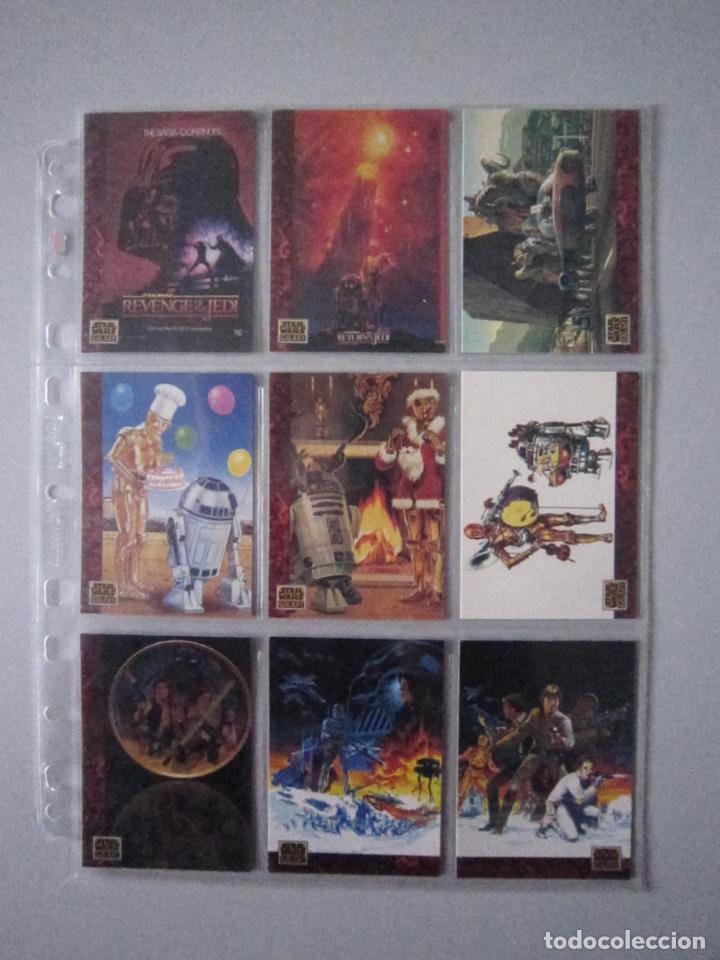 Trading Cards: STAR WARS - TRADING CARDS - GALAXY 1 - IMPORTACIÓN U.S.A. - Foto 9 - 108729043