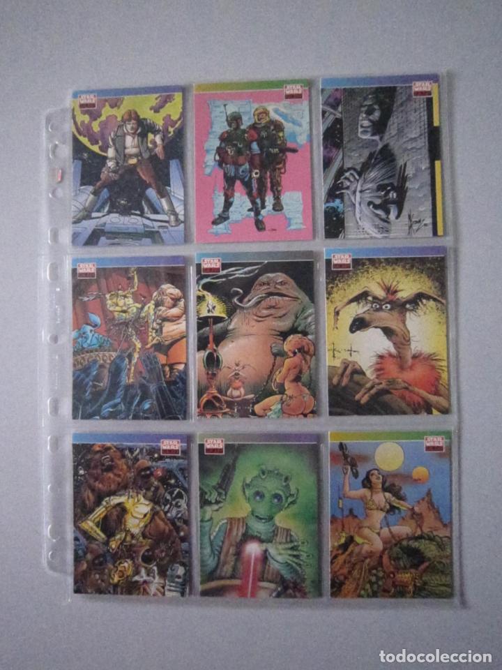 Trading Cards: STAR WARS - TRADING CARDS - GALAXY 1 - IMPORTACIÓN U.S.A. - Foto 12 - 108729043
