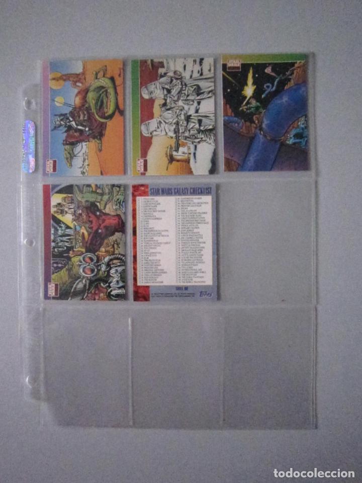 Trading Cards: STAR WARS - TRADING CARDS - GALAXY 1 - IMPORTACIÓN U.S.A. - Foto 16 - 108729043