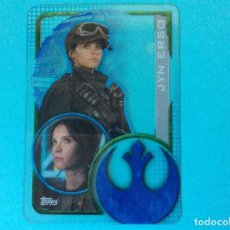 Trading Cards: STAR WARS - ROGUE ONE - TOPPS 2016 - Nº 193 - TRANSPARENTE. Lote 140636624