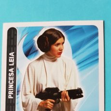 Trading Cards: TOPPS STAR WARS PRINCESA LEIA 24. Lote 112601959