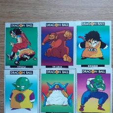 Trading Cards: LOTE 7 DRAGON BALL TRADING CARDS EDICIONES ESTE. Lote 112841019