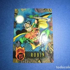 Trading Cards: TRADING CARD: DC FIREPOWER OUTBURST 1996 - Nº 21 - ROBIN. - FLEER /SKYBOX. Lote 112929583