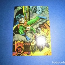 Trading Cards: TRADING CARD: DC FIREPOWER OUTBURST 1996 - Nº 60 - ROBIN. - FLEER /SKYBOX. Lote 112931819