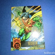 Trading Cards: TRADING CARD: DC FIREPOWER OUTBURST 1996 - Nº 69 - ROBIN. - FLEER /SKYBOX. Lote 112932215