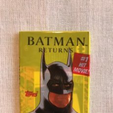 Trading Cards: SOBRE SIN ABRIR CARTAS BATMAN RETURNS - TOPPS. Lote 112984319