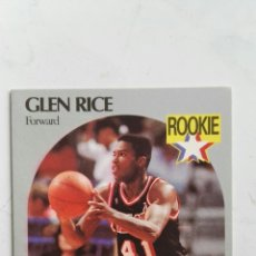 Nba Hoops 1990 Cromo Card Glen Rice Miami Heat 168
