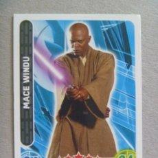 Trading Cards: TRADING CARD DE STAR WARS . LA GUERRA DE LAS GALAXIAS : MACE WINDU. Lote 245603685