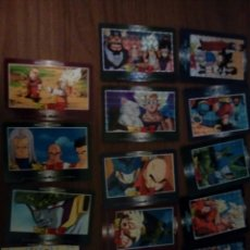Trading Cards: LOTE 14 CARDS POWER SYSTEM DRAGON BALL Z PART 22 EN JAPONES. Lote 113218640