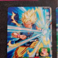 Trading Cards: TCG DRAGON BALL Z/GT HEROES CARD CARDDASS PRISM CARTE SH1-01. Lote 113534715