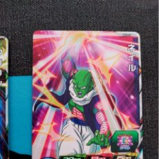 Trading Cards: TCG DRAGON BALL Z/GT HEROES CARD CARDDASS PRISM CARTE SH1-18. Lote 180312162