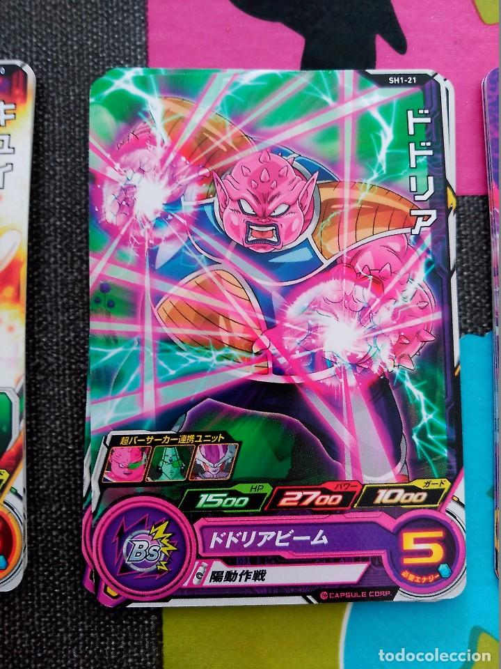TCG DRAGON BALL Z/GT HEROES CARD CARDDASS PRISM CARTE SH1-21 (Coleccionismo - Cromos y Álbumes - Trading Cards)