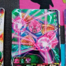 Trading Cards: TCG DRAGON BALL Z/GT HEROES CARD CARDDASS PRISM CARTE SH1-21. Lote 180312170
