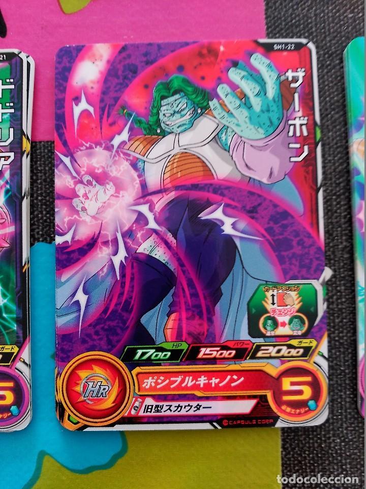 TCG DRAGON BALL Z/GT HEROES CARD CARDDASS PRISM CARTE SH1-22 (Coleccionismo - Cromos y Álbumes - Trading Cards)